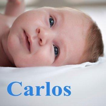 Dibujo del nombre Carlos para colorear, pintar e imprimir