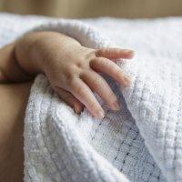 Cianosis. Piel azulada del bebé