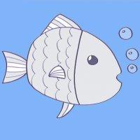 Cómo hacer, paso a paso, un dibujo de un pez