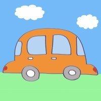 Cómo hacer, paso a paso, un dibujo de un coche