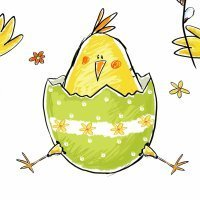Little chicks are squeaking. Canción infantil en inglés