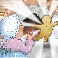 The Gingerbread Man. Cuentos tradicionales en inglés para niños