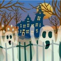 The ghostly village. Cuentos tradicionales en inglés para niños