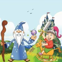 Merlin the Wizard. Cuentos tradicionales en inglés para niños