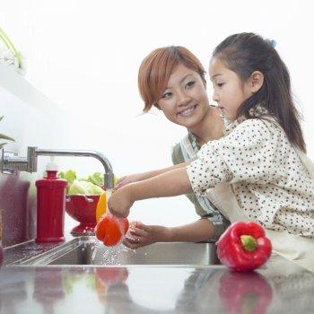 Higiene en la alimentación de niños y bebés