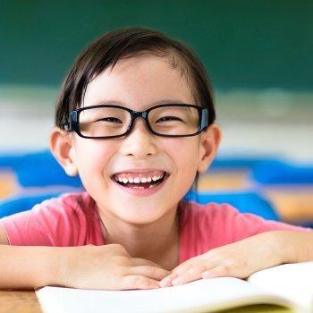 El uso de gafas en la infancia
