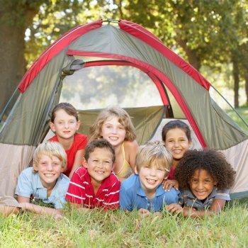 Campamento según sea el niño