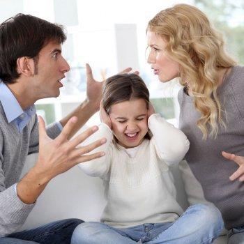 El divorcio y los niños. Hijos de padres separados y divorciados