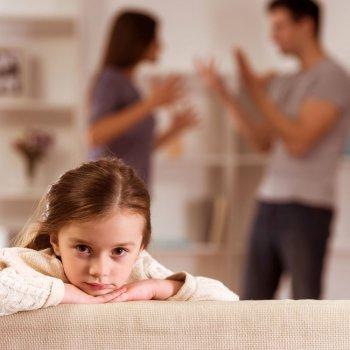 Reacción de los hijos al divorcio