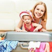 Qué llevar en la maleta cuando se viaja con bebés y niños