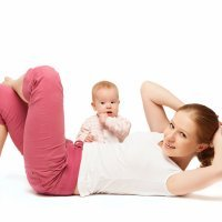 Tabla de ejercicios para después del parto