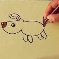 Cómo hacer un dibujo de un perro paso a paso