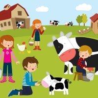Vídeos de animales de la granja en distintos idiomas