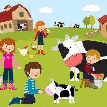 Vídeos de animales de la granja en varios idiomas