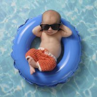 Canastilla para la llegada del bebé en meses de calor