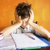 Los niños pueden padecer de ansiedad  y estrés