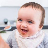 El orden de los alimentos en la dieta complementaria del bebé
