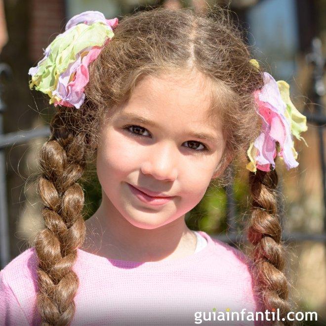 Ideas de peinados con trenzas para niñas