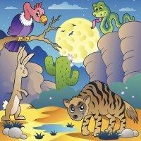 La hiena y la liebre. Leyenda infantil africana