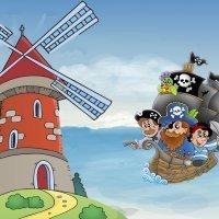 El molino mágico. Leyenda europea para niños
