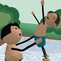 El hijo del nadador. Fábulas modernas para niños