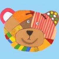 Puzzle de oso Traposo. Manualidades de juguetes caseros