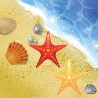 Las estrellas de mar. Cuento corto para niños