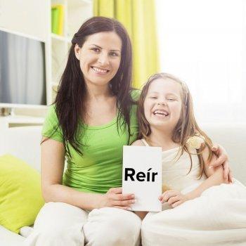Juego para enseñar a los niños a conjugar los verbos