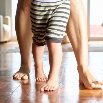 Las 9 anomalías más frecuentes en los pies de los niños