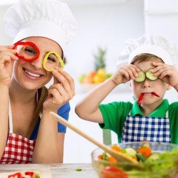 10 consejos infalibles para que los niños se aficionen a comer verduras