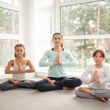 Técnica casera de meditación para niños