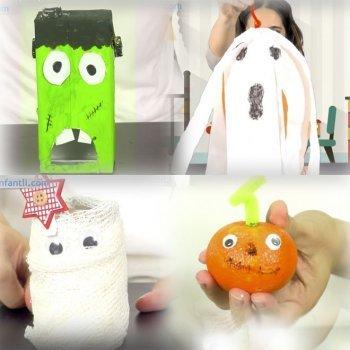 5 manualidades de Halloween para decorar la casa con los niños