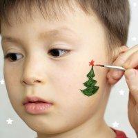 Maquillajes de Navidad para niños