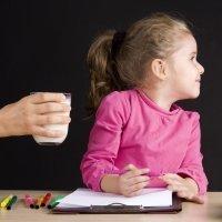 Cuando el niño no quiere tomar lácteos