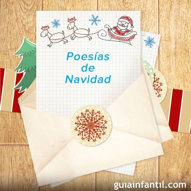 Poesías cortas de Navidad para niños