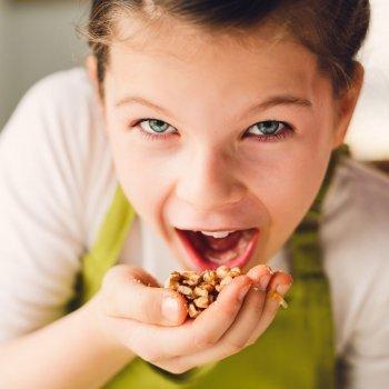 Alimentos con los que los niños se atragantan fácilmente