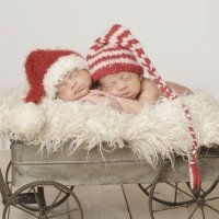 Nombres navideños para niños y niñas gemelos