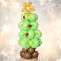 Árbol de Navidad con globos. Globoflexia para niños