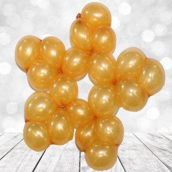 Estrella  con globos. Manualidades decorativas