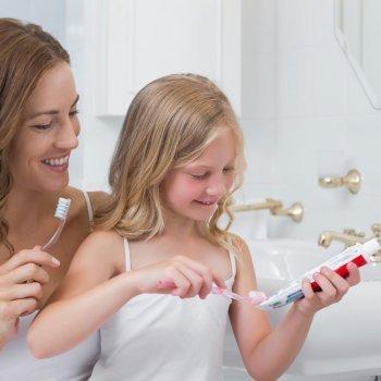 Qué pasta de dientes debe usar el niño