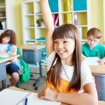 Conseguir que los niños participen en clase