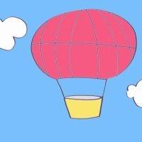 Cómo hacer, paso a paso, un dibujo de un globo