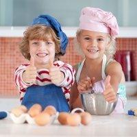 Niños, ¡Vamos a la cocina!