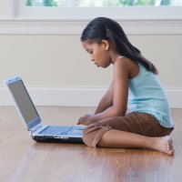 Los niños y el uso del ordenador portátil