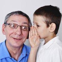 Los niños cuentan sus secretos y problemas a los abuelos