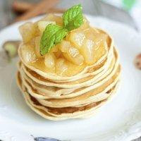 Un desayuno especial: Tortitas de manzana