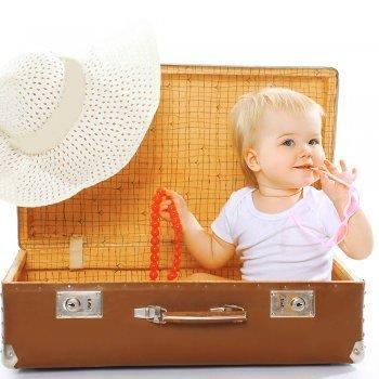 Preparar las vacaciones con un bebé