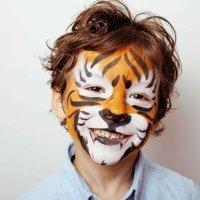 Maquillaje de animales para el carnaval de los niños