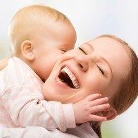 Un beso, el mejor regalo para mamá