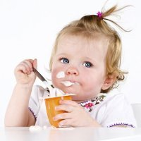 La introducción del yogur en la dieta del bebé